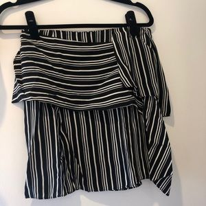 Zara Skirts - Zara black&white stipe skirt